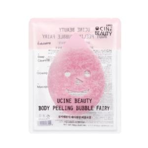 ucine beauty body peeling bubble fairy